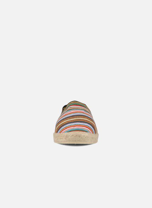 Espadrilles La maison de l'espadrille Sabline Rayure H Multicolore vue portées chaussures