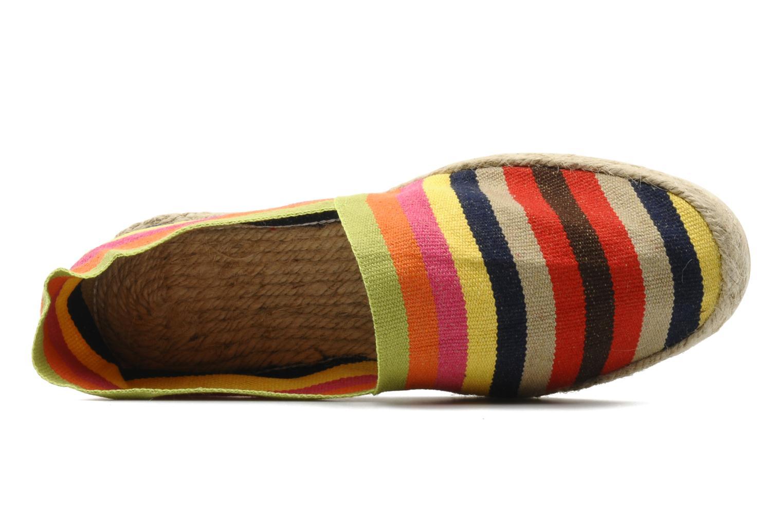 Espadrilles La maison de l'espadrille Sabline Rayure H Multicolore vue gauche