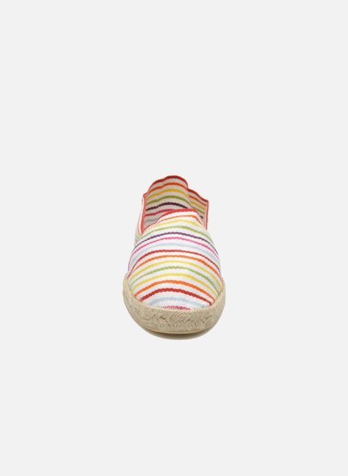 Alpargatas La maison de l'espadrille Sabline Rayure F Multicolor vista del modelo