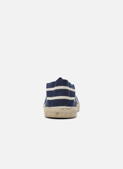 Espadrilles La maison de l'espadrille Sabline rayure f Blue view from the right