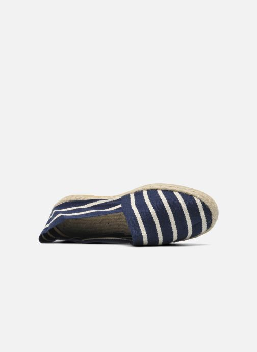 Espadrilles La maison de l'espadrille Sabline rayure f Blue view from the left