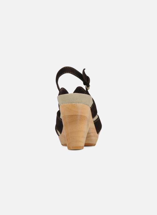 Sandales et nu-pieds Kalso Earth Monaco Marron vue droite
