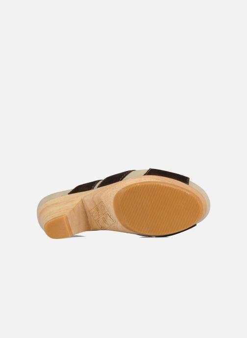 Sandales et nu-pieds Kalso Earth Monaco Marron vue haut