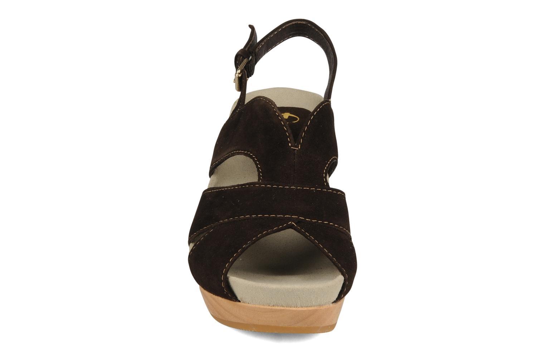Sandalen Kalso Earth Monaco braun schuhe getragen