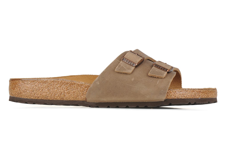 Sandales et nu-pieds Birkenstock Vaduz cuir m Marron vue derrière