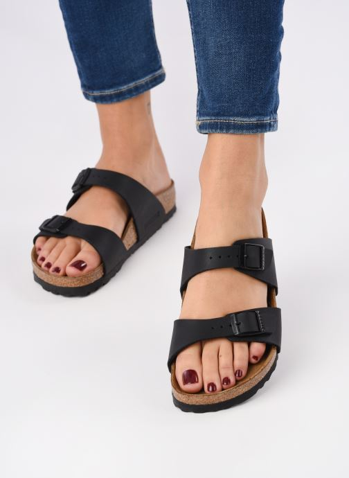 Mules & clogs Birkenstock Sydney flor w Black view from underneath / model view