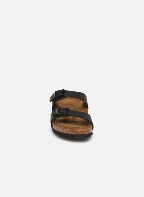 Clogs & Pantoletten Birkenstock Sydney Flor W schwarz schuhe getragen