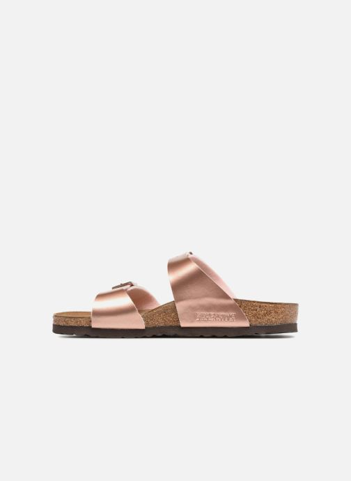 Zoccoli Birkenstock Sydney Flor W Rosa immagine frontale
