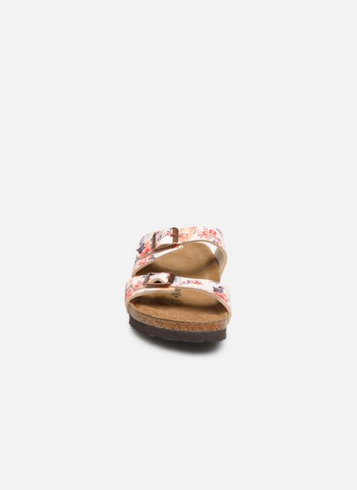 Clogs & Pantoletten Birkenstock Sydney Flor W mehrfarbig schuhe getragen