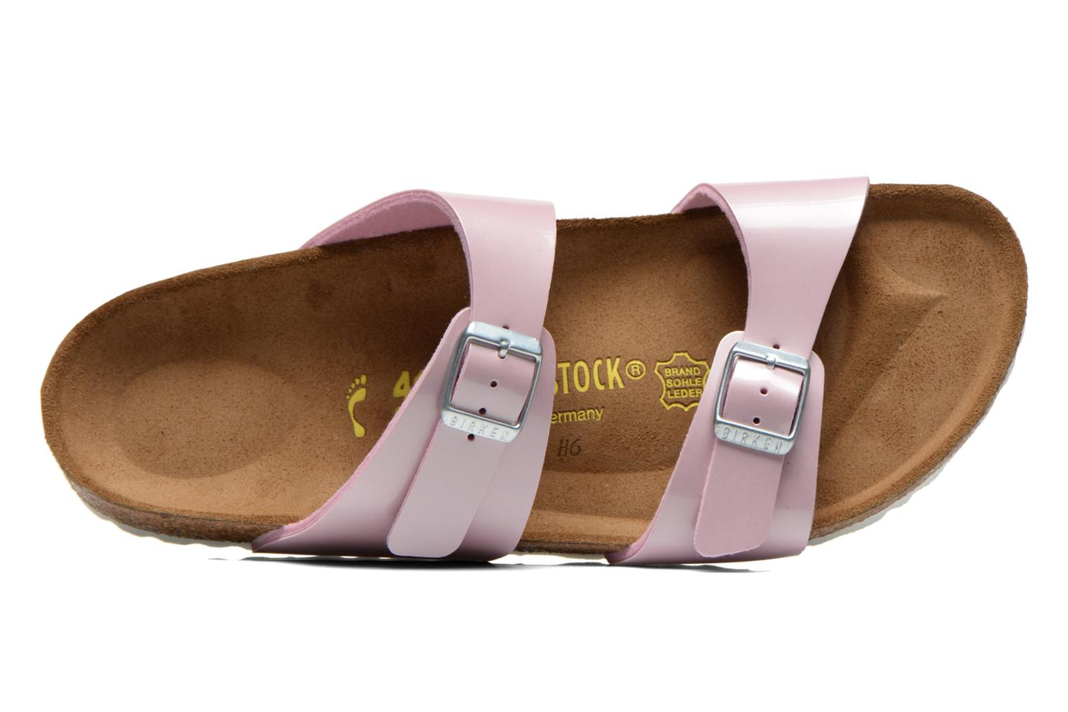 Mules & clogs Birkenstock Sydney flor w Pink view from the left