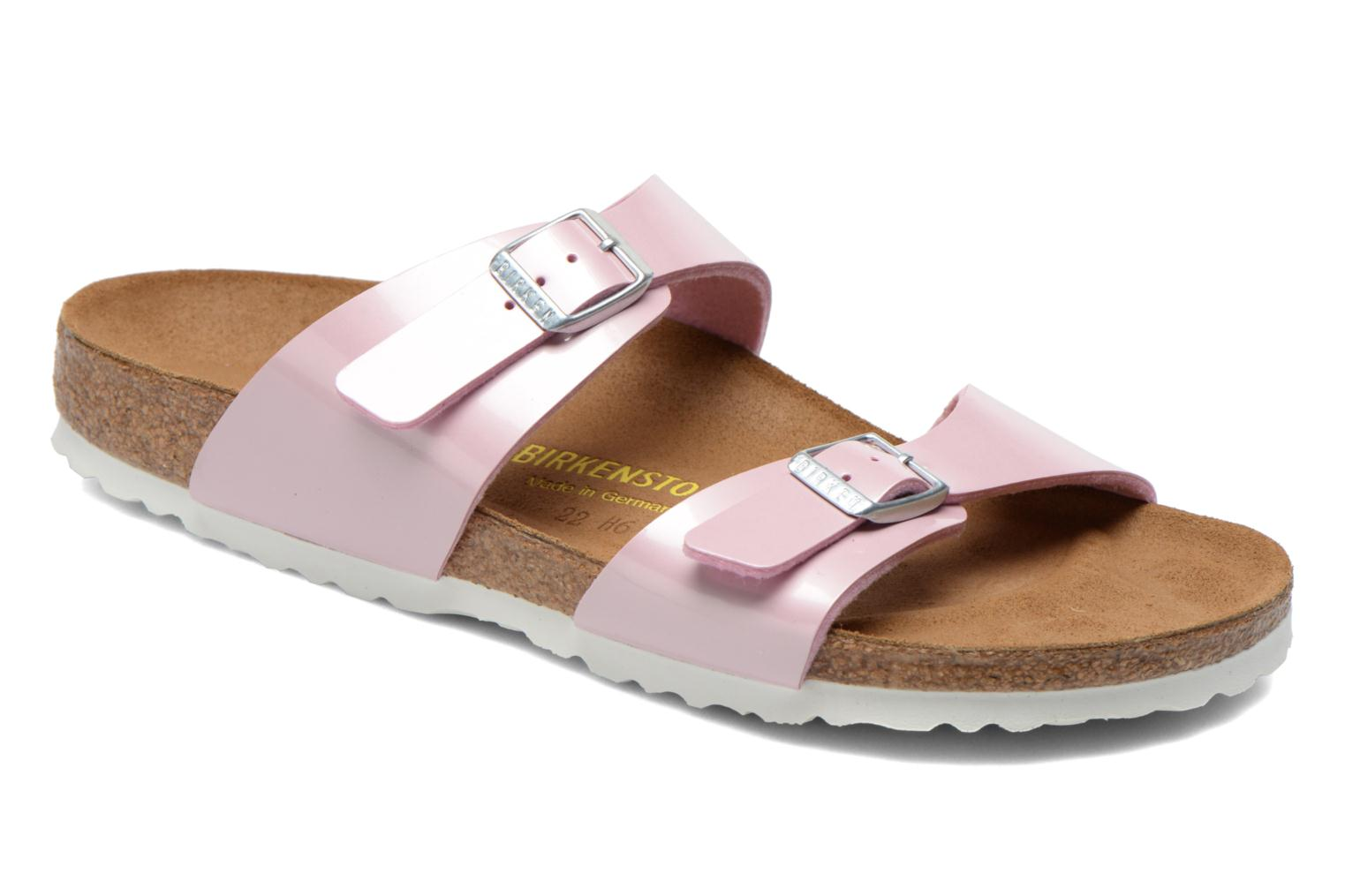 Mules & clogs Birkenstock Sydney flor w Pink detailed view/ Pair view