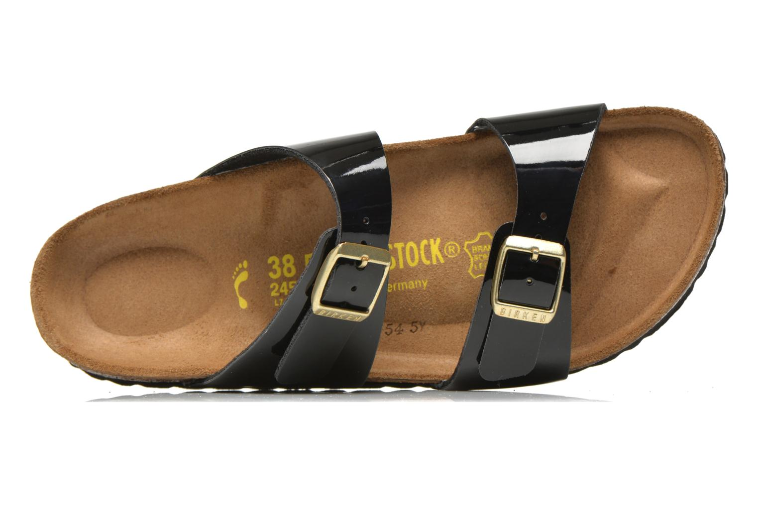 Mules & clogs Birkenstock Sydney flor w Black view from the left