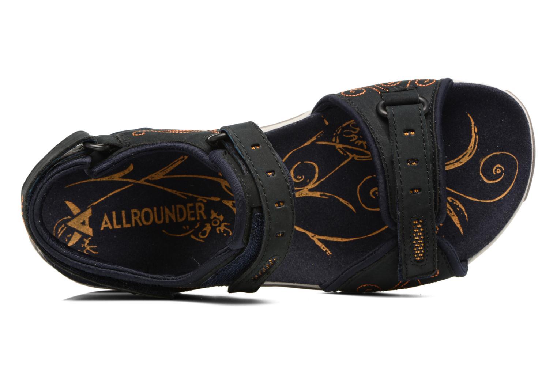 Chaussures de sport Allrounder by Mephisto Lagoona Noir vue gauche