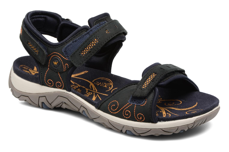 Chaussures de sport Allrounder by Mephisto Lagoona Noir vue détail/paire