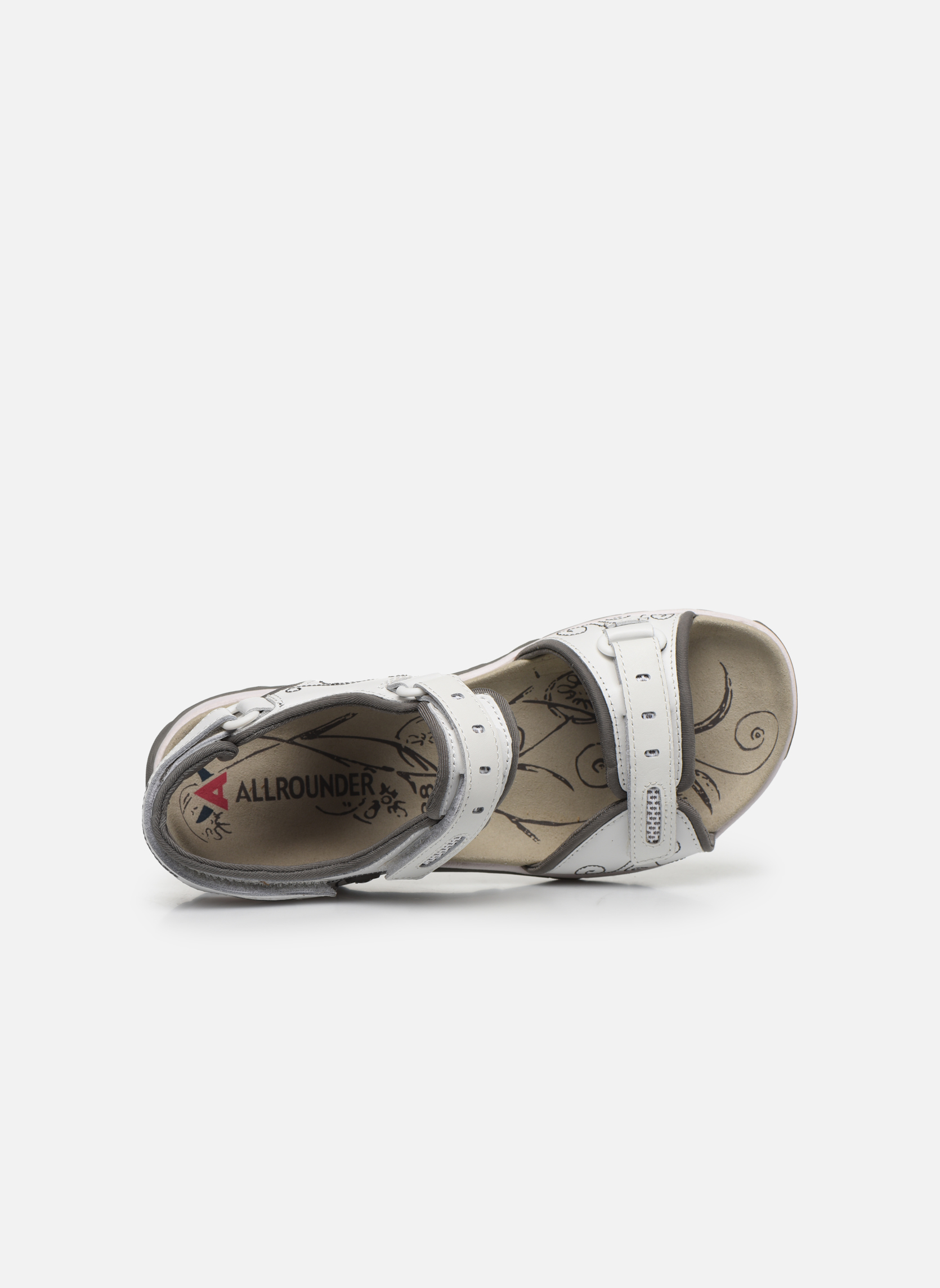 Sport shoes Allrounder by Mephisto Lagoona White view from the left