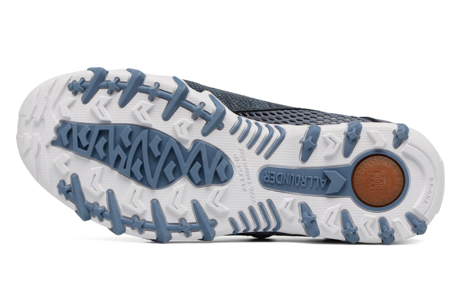 Sport shoes Allrounder by Mephisto Niro Blue view from above