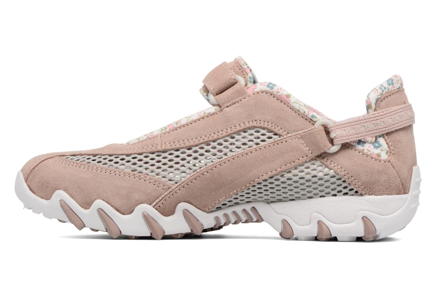 Sport shoes Allrounder by Mephisto Niro Pink front view
