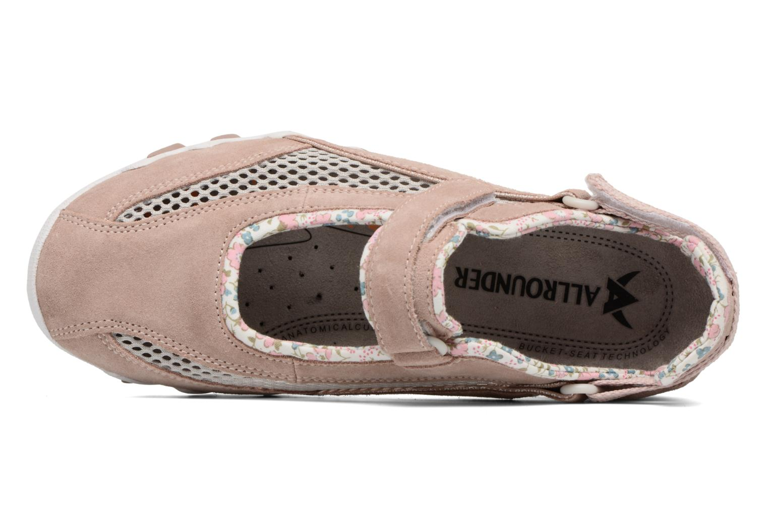 Sport shoes Allrounder by Mephisto Niro Pink view from the left