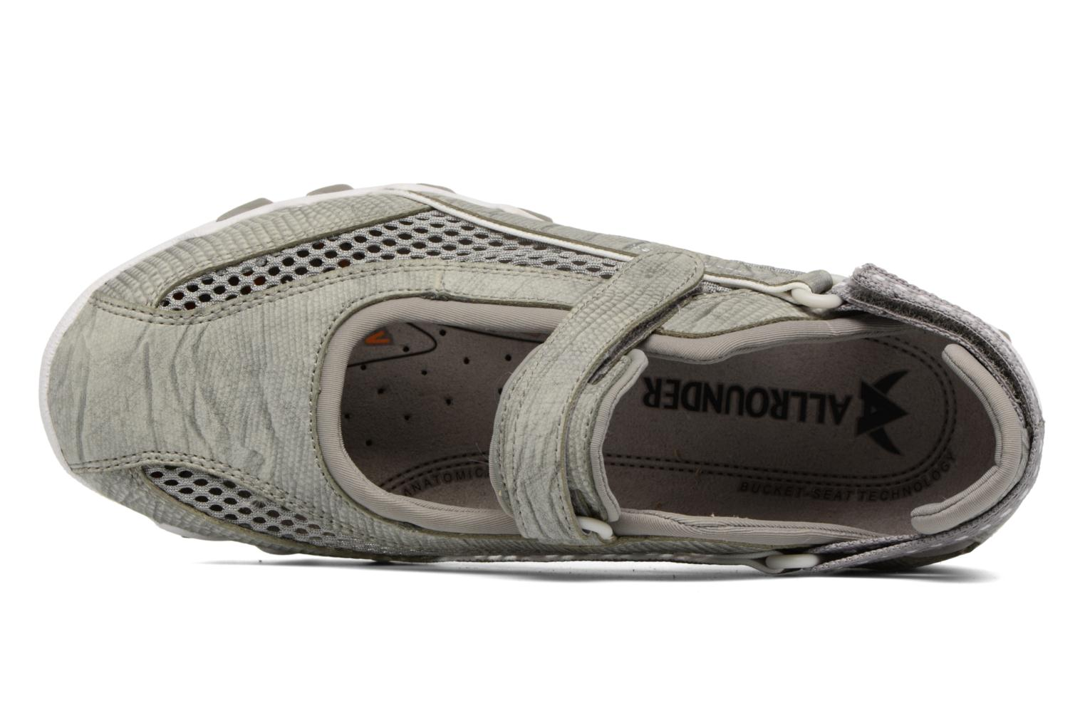 Sport shoes Allrounder by Mephisto Niro Grey view from the left