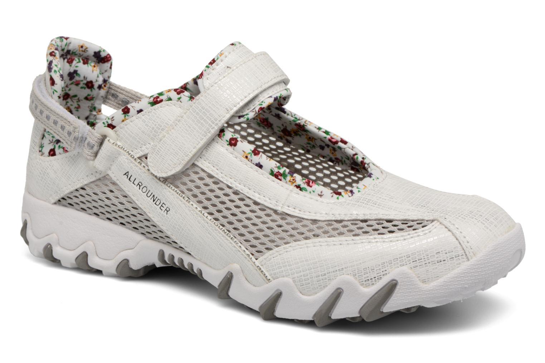 Chaussures de sport Allrounder by Mephisto Niro Blanc vue détail/paire