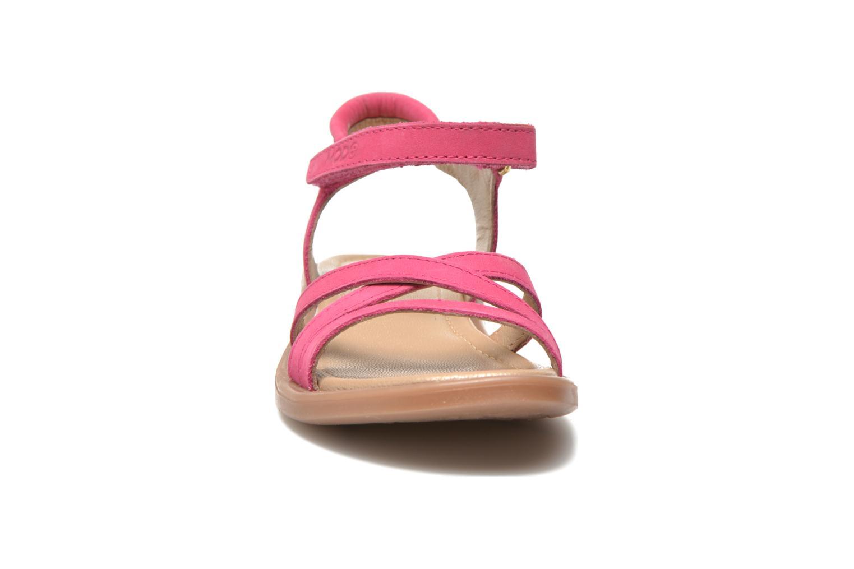Sandales et nu-pieds Mod8 Jelguy2 Rose vue portées chaussures