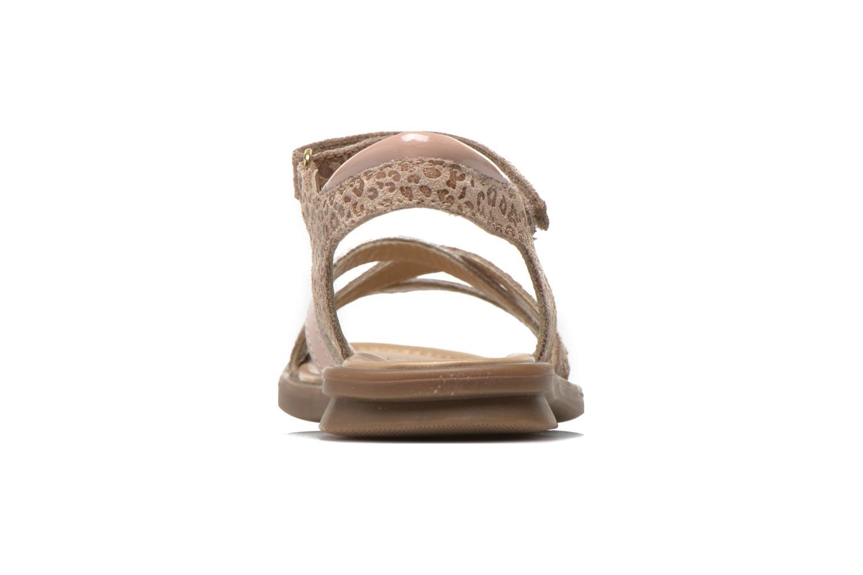 Sandales et nu-pieds Mod8 Jelguy2 Beige vue droite