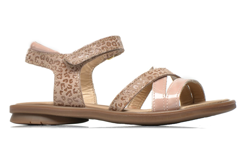 Sandales et nu-pieds Mod8 Jelguy2 Beige vue derrière