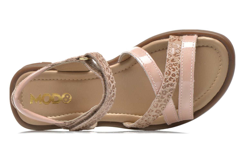 Sandales et nu-pieds Mod8 Jelguy2 Beige vue gauche
