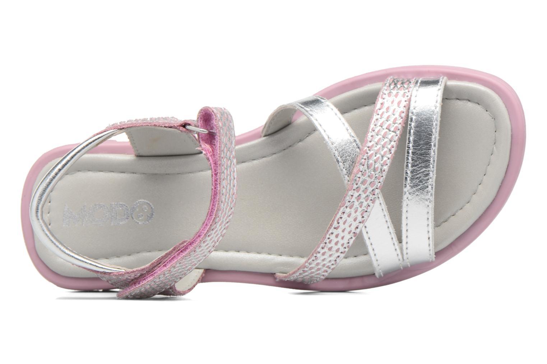 Sandales et nu-pieds Mod8 Jelguy2 Rose vue gauche