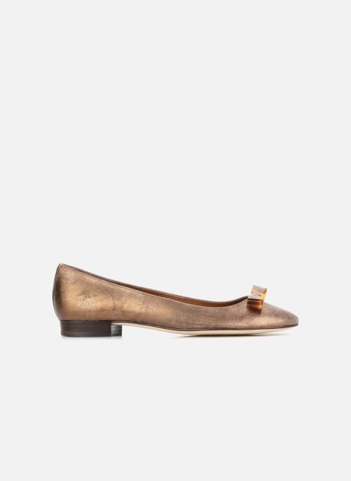 Ballet pumps Mellow Yellow Kamini Bronze and Gold back view