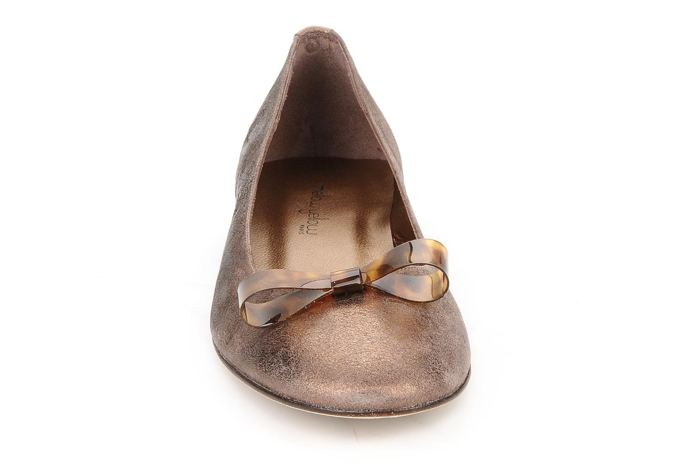 Ballerines Mellow Yellow Kamini Or et bronze vue portées chaussures