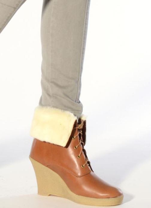 Bottines et boots Mellow Yellow Kafka Marron vue bas / vue portée sac