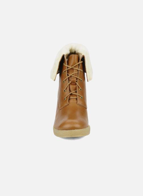 Bottines et boots Mellow Yellow Kafka Marron vue portées chaussures