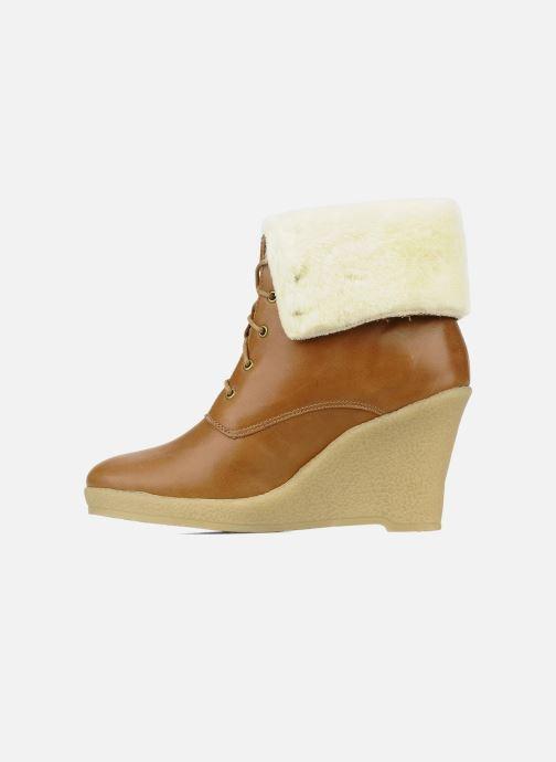 Boots en enkellaarsjes Mellow Yellow Kafka Bruin voorkant