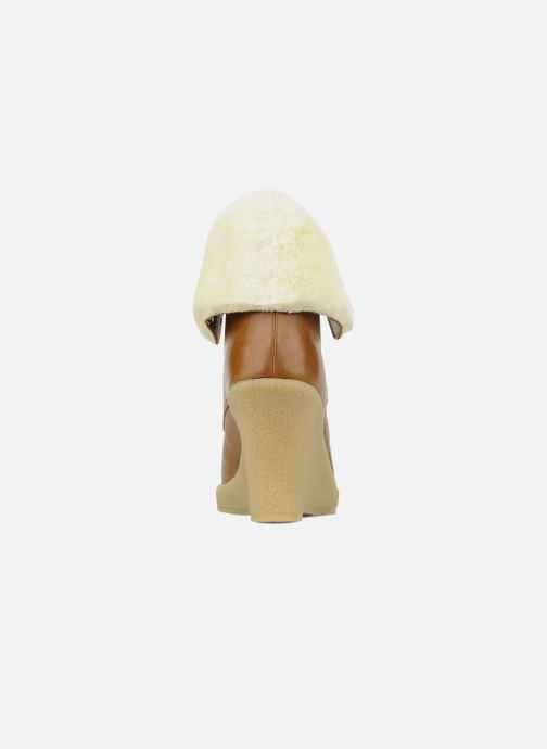 Bottines et boots Mellow Yellow Kafka Marron vue droite