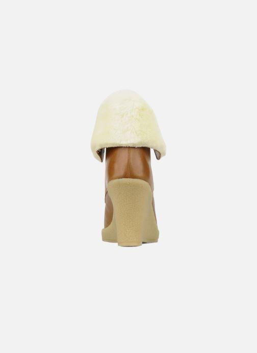 Boots en enkellaarsjes Mellow Yellow Kafka Bruin rechts
