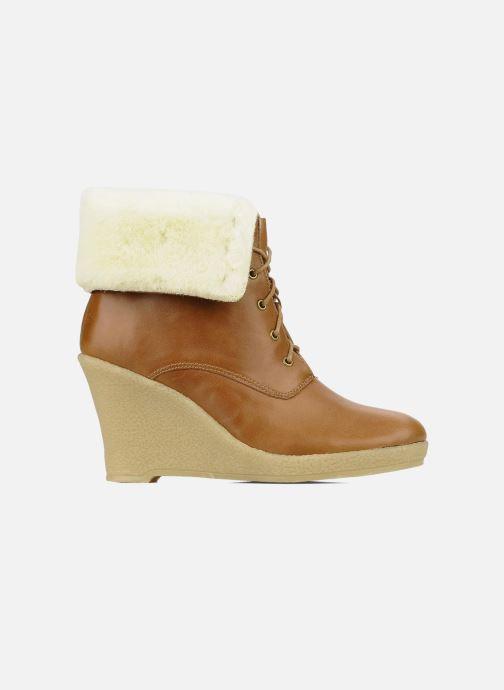 Boots en enkellaarsjes Mellow Yellow Kafka Bruin achterkant