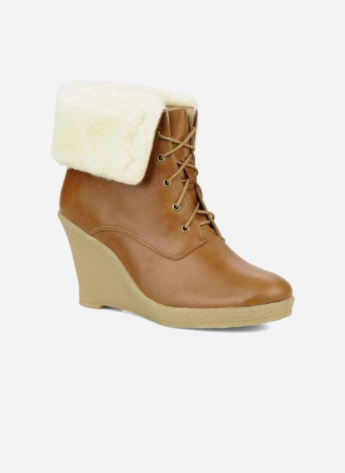 Boots en enkellaarsjes Mellow Yellow Kafka Bruin detail