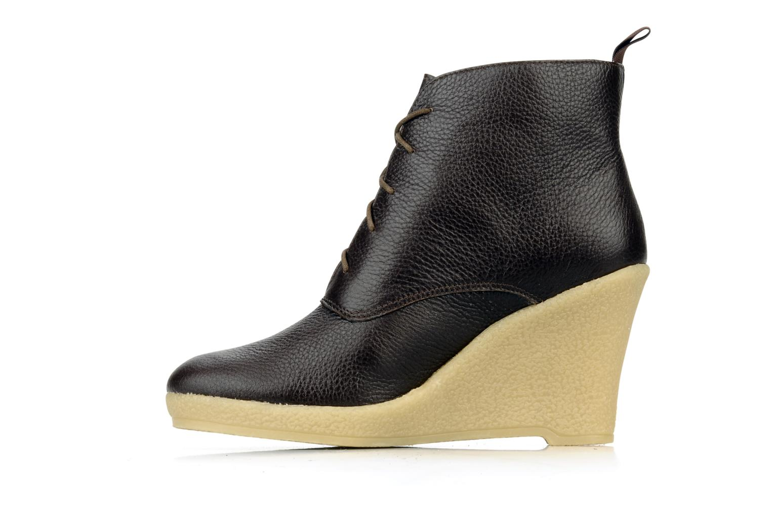 Bottines et boots Mellow Yellow Koala Marron vue face