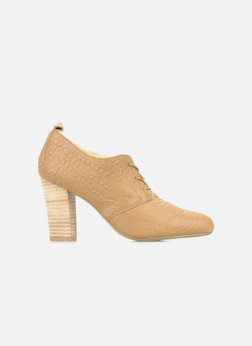 Zapatos con cordones Mellow Yellow Kony Beige vistra trasera