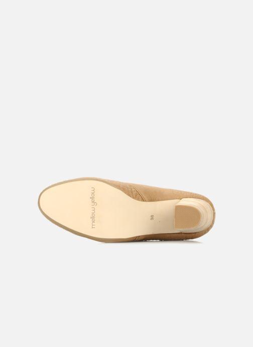 Zapatos con cordones Mellow Yellow Kony Beige vista de arriba