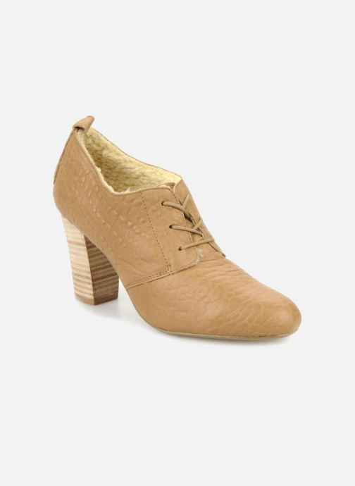 Veterschoenen Mellow Yellow Kony Beige detail