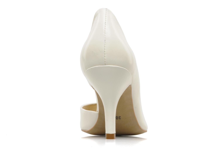 Zapatos de tacón Georgia Rose Alige Blanco vista lateral derecha