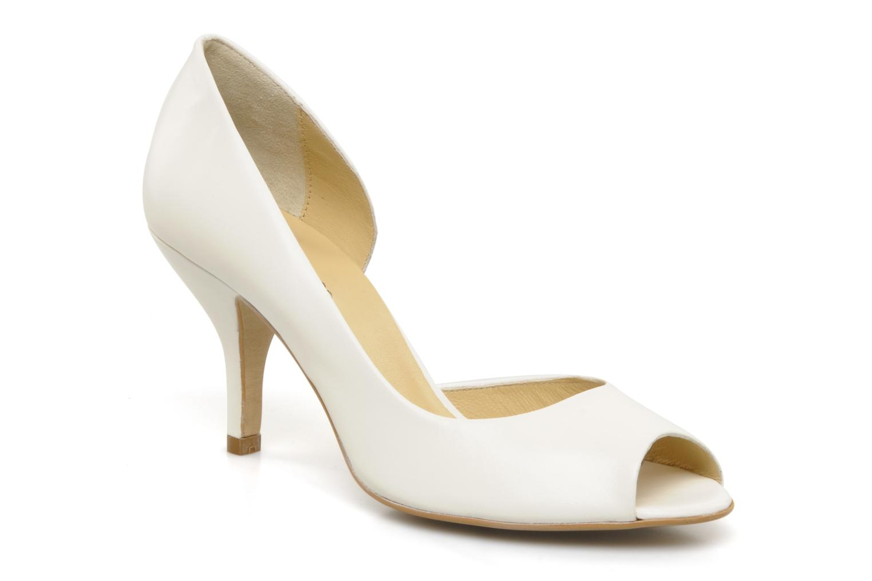 Zapatos de tacón Georgia Rose Alige Blanco vista de detalle / par