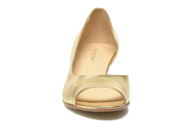 High heels Georgia Rose Phoeti Bronze and Gold model view
