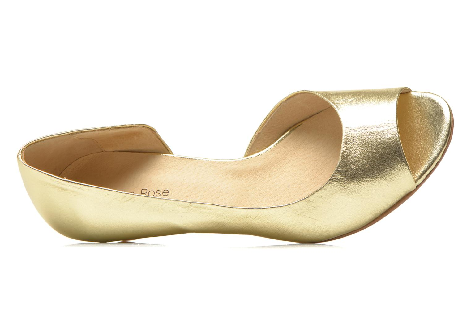 High heels Georgia Rose Phoeti Bronze and Gold view from the left