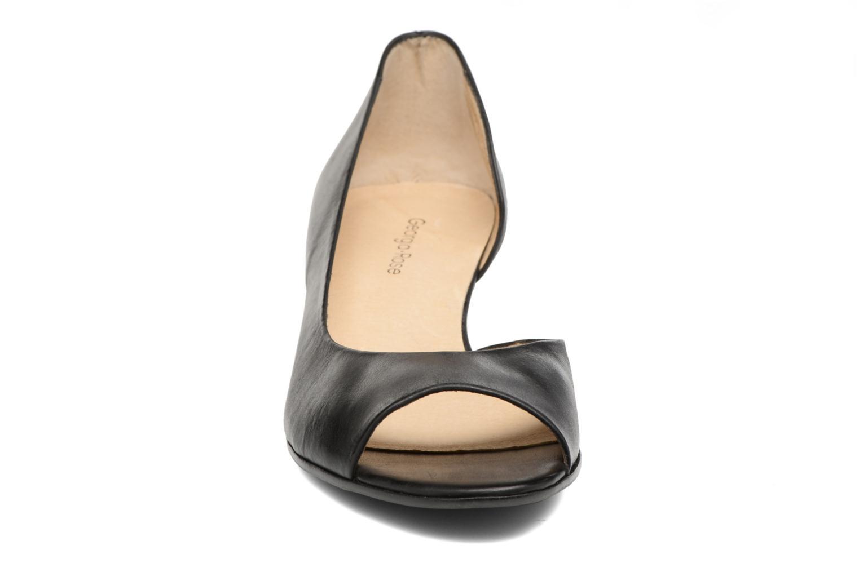 Escarpins Georgia Rose Phoeti Noir vue portées chaussures