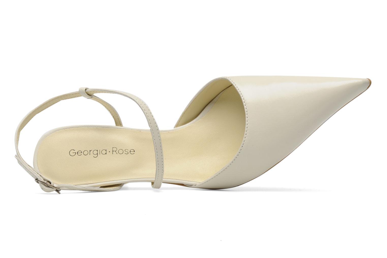 Escarpins Georgia Rose Lidol Blanc vue gauche