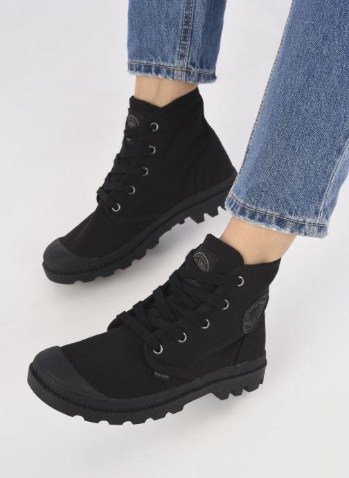 Sneakers Palladium Pampa hi w Zwart onder