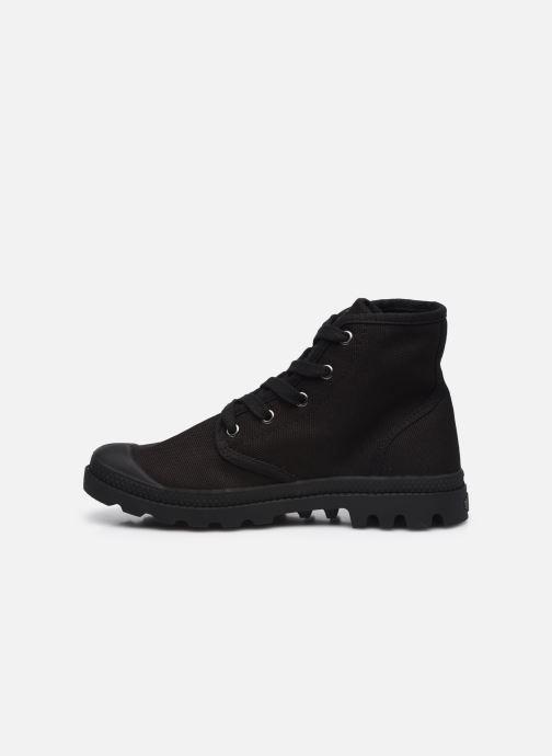 Sneakers Palladium Pampa hi w Zwart voorkant